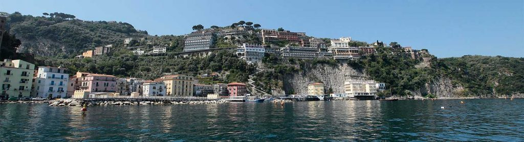 Sorrento and Amalfi coast by boat
