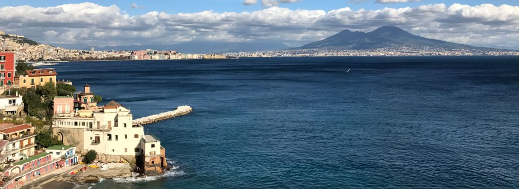 Naples along the sea