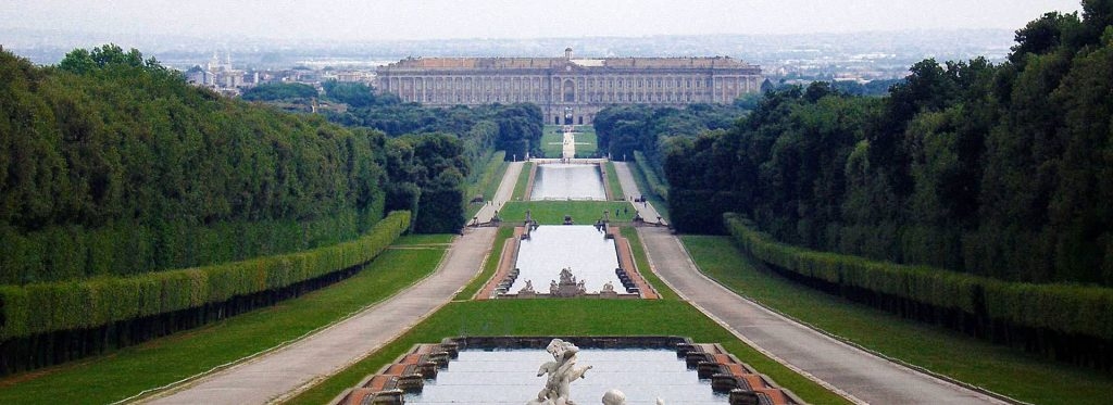 Royal palace and park of Caserta